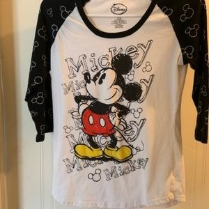 Disney Mickey Mouse Girl's T-Shirt Size Large